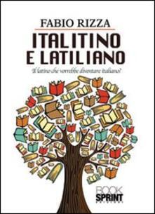 Italitino e latiliano - Fabio Rizza - copertina