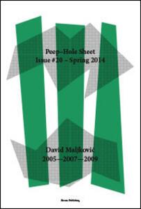 David Maljkovic: 2005-2007-2009. Ediz. italiana e inglese