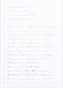 Promoartpalermo.it Micol Assaël. Iliokatakiniomumastilopsarodimakopiotita. Ediz. italiana e inglese Image