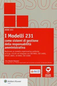 I modelli 231 come sistemi di gestione della responsabilità amministrativa
