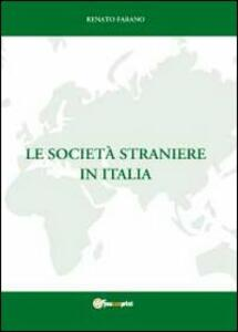 Le società straniere in Italia
