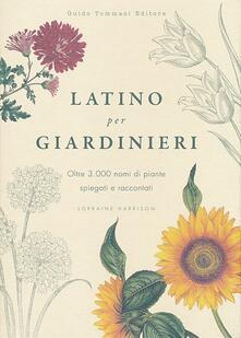 Camfeed.it Latino per giardinieri. Oltre 3000 nomi di piante spiegati e raccontati Image