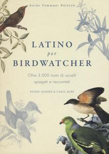 Promoartpalermo.it Latino per birdwatcher. Oltre 3.000 nomi di uccelli spiegati e raccontati Image