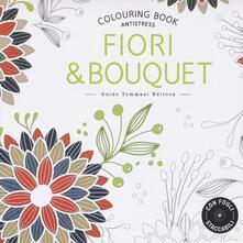 Premioquesti.it Fiori & bouquet. Colouring book antistress Image