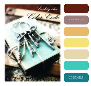 Color code shabby chic - Patrizia Rebecchi - ebook