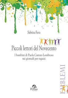 Listadelpopolo.it Piccoli lettori del Novecento. I bambini di Paola Carrara Lombroso sui giornali per ragazzi Image