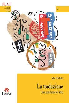 Antondemarirreguera.es La traduzione. Una questione di stile Image