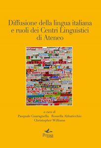 Diffusione della lingua italiana e ruoli dei centri linguistici di ateneo