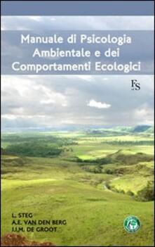 Fondazionesergioperlamusica.it Manuale di psicologia ambientale e dei comportamenti ecologici Image