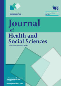 Journal of health and social sciences (2017). Vol. 2: July.