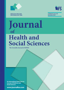 Journal of health and social sciences (2017). Vol. 3: November.