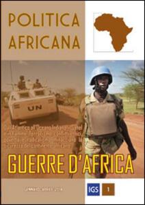 Politica africana (2014). Vol. 1