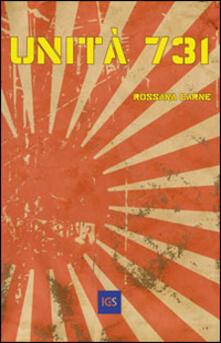Unità 731 - Rossana Carne - copertina