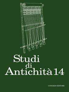 Studi di antichità. Vol. 14
