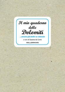 Aboutschuster.de Il mio quaderno delle Dolomiti... ancora più belle se colorate. Ediz. illustrata Image