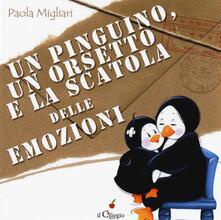 Nicocaradonna.it Un pinguino, un orsetto e la scatola delle emozioni. Ediz. a colori Image