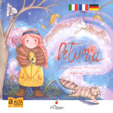Vitalitart.it Petunia. Ediz. italiana, francese e tedesca. Ediz. ad alta leggibilità Image