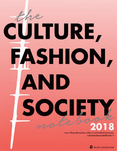 Theculture, fashion and society's. Notebook (2018)