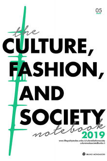 Theculture, fashion and society notebook (2019). Vol. 5