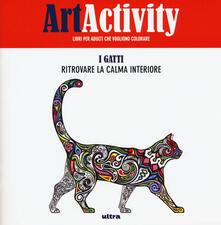 Radiospeed.it Art activity pocket. I gatti. Ritrovare la calma interiore Image