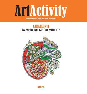 Art activity. Camaleonti. La magia del colore mutante