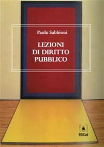 Diritto Pubblico Pdf