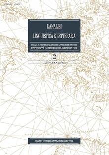 L' analisi linguistica e letteraria (2012). Vol. 2 - AA. VV. - ebook