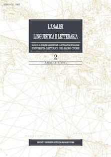 L' analisi linguistica e letteraria (2011). Vol. 2 - AA.VV. - ebook