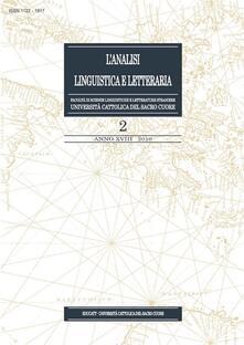 L' analisi linguistica e letteraria (2010). Vol. 2 - AA.VV. - ebook