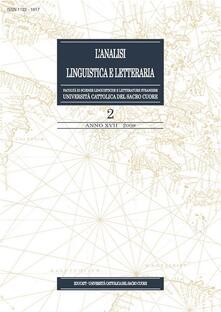 L' analisi linguistica e letteraria (2009). Vol. 2 - AA.VV. - ebook