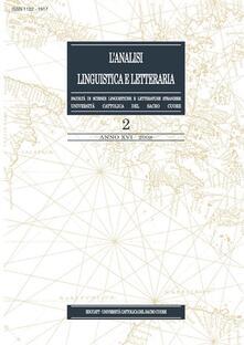L' analisi linguistica e letteraria (2008). Vol. 2 - AA.VV. - ebook