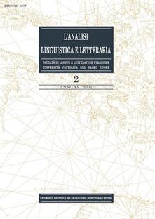 L' analisi linguistica e letteraria (2007). Vol. 2 - AA.VV. - ebook