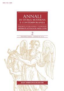 Annali di storia moderna e contemporanea (2014). Vol. 2 - AA. VV. - ebook