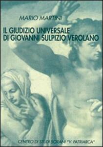Il giudizio universale di Giovanni Sulpizio Verolano. Testo latino a fronte