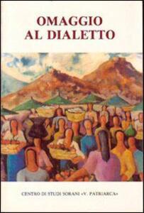 Omaggio al dialetto per gli ottant'anni del poeta Riccardo Gulia. Atti del Convegno (Sora, 30 marzo 1985)