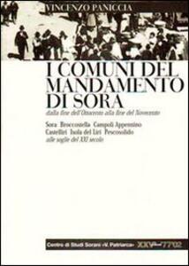 I comuni del mandamento di Sora dalla fine dell'Ottocento alla fine del Novecento. Con appendice di dati e notizie