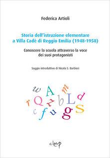 Ipabsantonioabatetrino.it Storia dell'istruzione elementare a Villa Cadé di Reggio Emilia (1948-1958). Conoscere la scuola attraverso la voce dei suoi protagonisti Image