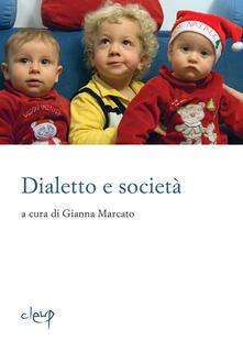 Dialetto e società. Con Libro.pdf