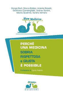 Lpgcsostenible.es Slow medicine. Perché una medicina sobria, rispettosa e giusta è possibile Image