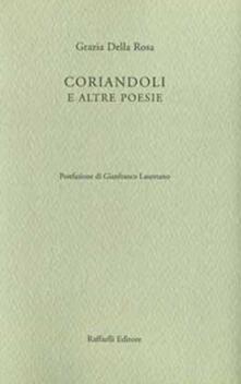 Coriandoli e altre poesie - Grazia Della Rosa - copertina