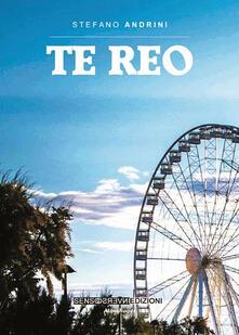 Te reo - Stefano Andrini - copertina