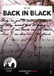 Back in black - copertina