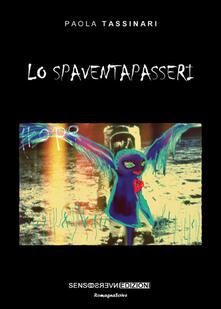 Lo spaventapasseri - Paola Tassinari - copertina
