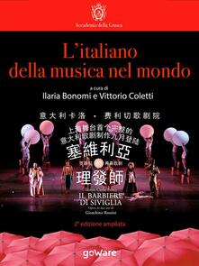 L' italiano della musica nel mondo - Ilaria Bonomi,Vittorio Coletti - ebook
