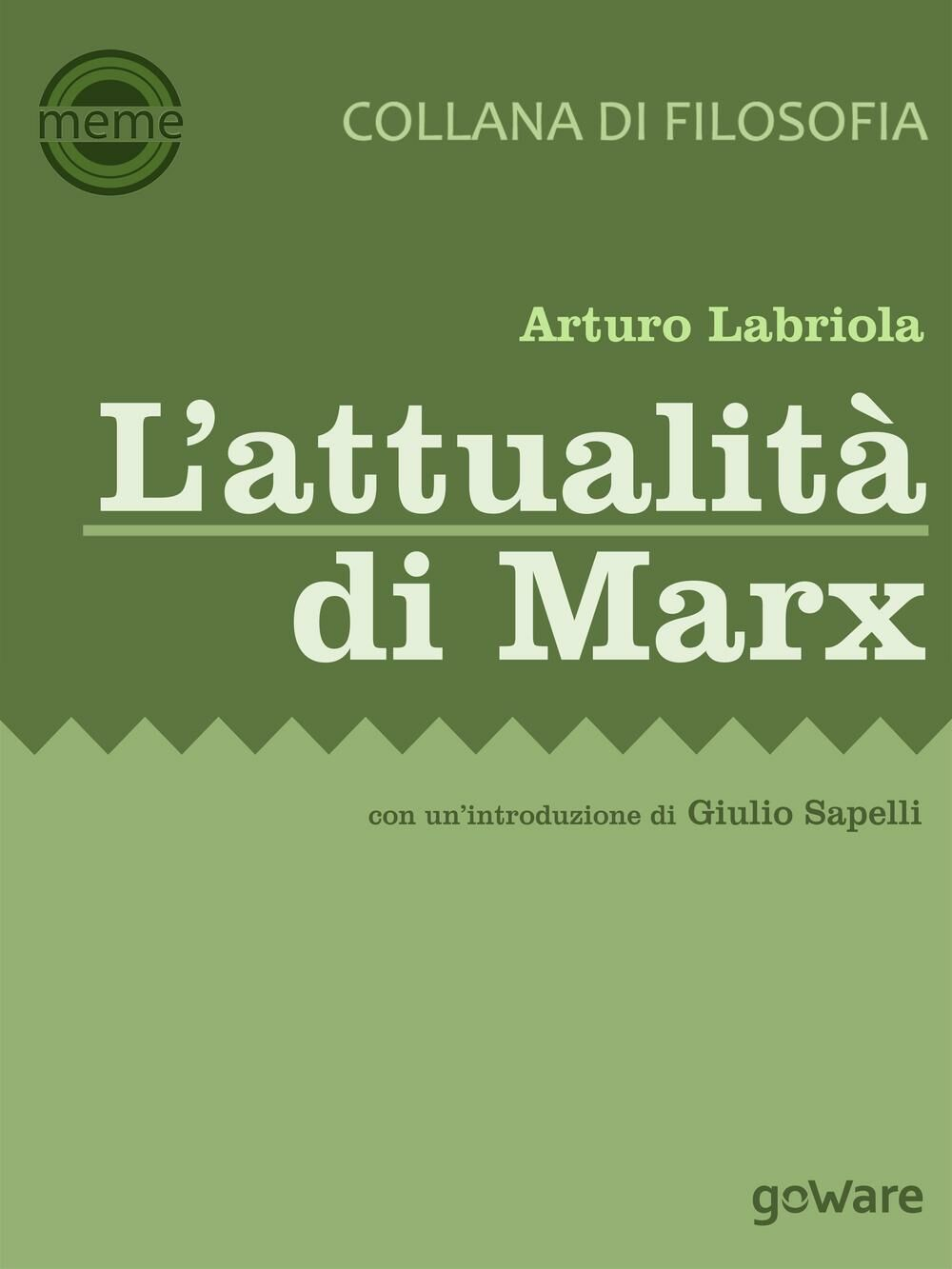 L' attualità di Marx