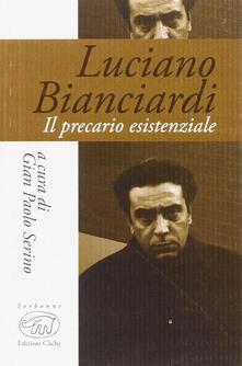 Luciano Bianciardi. Il precario esistenziale - copertina