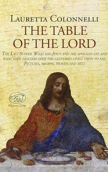 The table of the lord - Lauretta Colonnelli - copertina