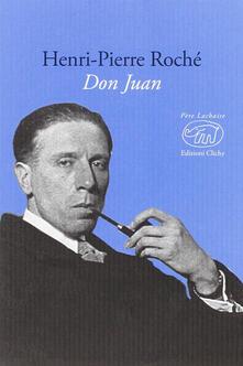 Don Juan - Henri-Pierre Roché - copertina