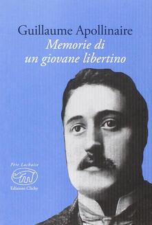 Memorie di un giovane libertino - Guillaume Apollinaire - copertina
