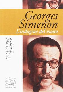 Promoartpalermo.it Georges Simenon. L'indagine del vuoto Image